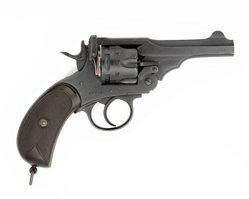 P. WEBLEY & SON, LONDON & BIRMINGHAM A .450/.455 SIX-SHOT DOUBLE-ACTION REVOLVER, MODEL ''MARK IV'' serial no. 123423,