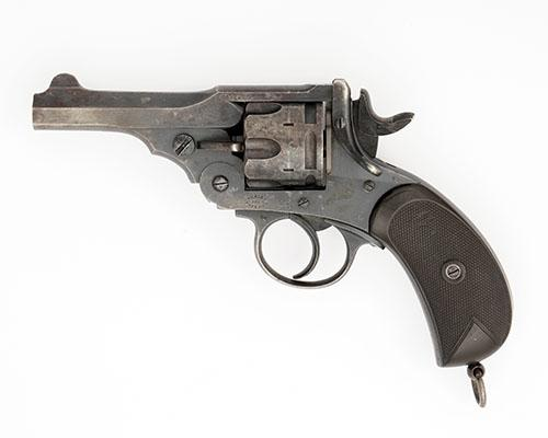 WEBLEY, A .455 SIX-SHOT DOUBLE-ACTION REVOLVER, MODEL ''MARK II'' serial no. 63446,