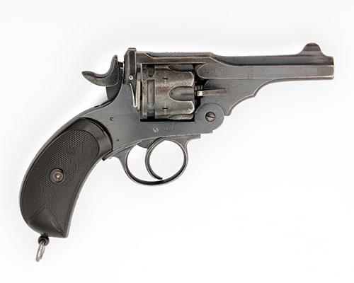 P. WEBLEY & SON, LONDON & BIRMINGHAM A .455 SIX-SHOT DOUBLE-ACTION REVOLVER, MODEL ''MARK III'' serial no. 1562,