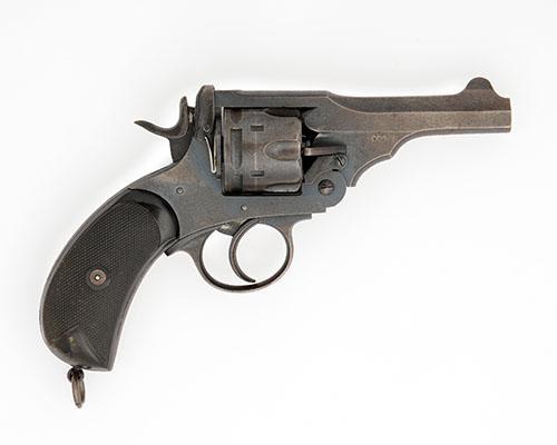 WEBLEY A .455 SIX-SHOT DOUBLE-ACTION REVOLVER, MODEL ''MARK V'' serial no. 144602,