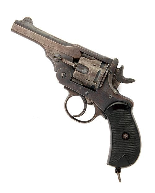 WEBLEY FOR ARMY & NAVY CSL A .455/.476 SIX-SHOT DOUBLE-ACTION REVOLVER, MODEL ''MARK I'' serial no. 40826,