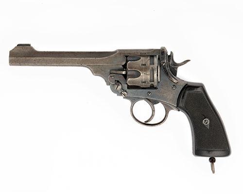 WEBLEY A .455 SIX-SHOT SERVICE REVOLVER, MODEL ''MARK VI'', serial no. 312036,
