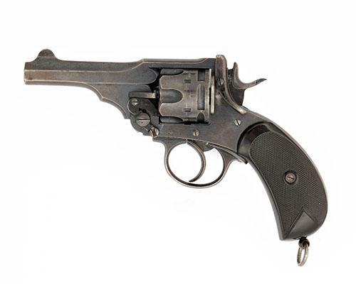 WEBLEY A .450/.455 SIX-SHOT DOUBLE-ACTION REVOLVER, MODEL ''MARK IV'' serial no. 88927,