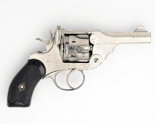 ARMY & NAVY CSL, LONDON A SCARCE .380 SIX-SHOT REVOLVER, MODEL ''WEBLEY''S MKII POCKET'', serial no. 494,