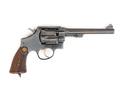 SMITH & WESSON, USA A .455 SIX-SHOT DOUBLE-ACTION SERVICE REVOLVER, MODEL ''MKII HAND-EJECTOR'', serial no. 28584,