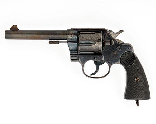 COLT, USA A .455 SIX-SHOT DOUBLE-ACTION SERVICE REVOLVER, MODEL ''NEW SERVICE'', serial no. 65963,