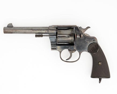 COLT, USA A GOOD .455 SIX-SHOT DOUBLE-ACTION REVOLVER, MODEL ''NEW SERVICE'', serial no. 76149,