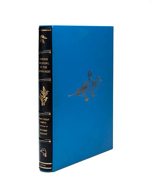 BRIAN MARTIN AND RICHARD ROBJENT ''SPORTING WILDFOWL OF THE BRITISH ISLES'',