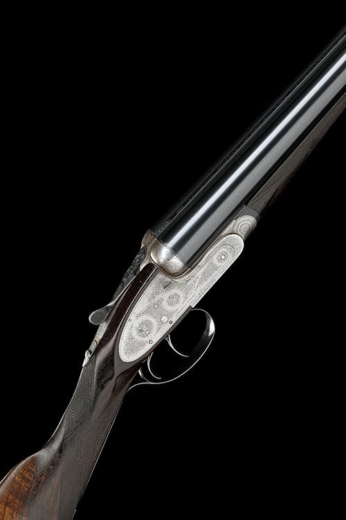 J. PURDEY & SONS A 12-BORE SELF-OPENING SIDELOCK EJECTOR, serial no. 16383,