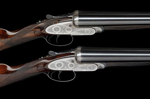 J. PURDEY & SONS A PAIR OF 12-BORE SELF-OPENING SIDELOCK EJECTORS, serial no. 15897 / 8,