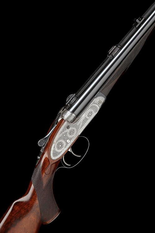 J. PURDEY & SONS A .404 (RIMLESS) NITRO EXPRESS SELF-OPENING SIDELOCK EJECTOR DOUBLE RIFLE, serial no. 21548,