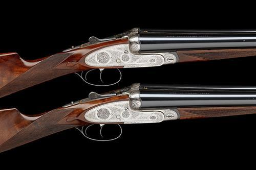 PEDRO ARRIZABALAGA A PAIR OF 12-BORE SELF-OPENING SIDELOCK EJECTORS, serial no. 13223 / 4,