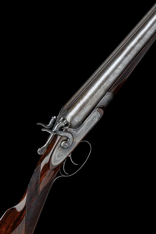 J. PURDEY A 12-BORE TOPLEVER BAR-IN-WOOD HAMMERGUN, serial no. 10020,