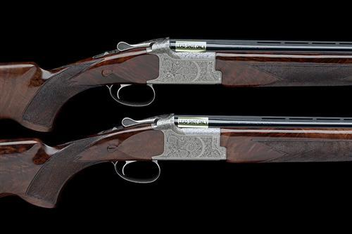 † B.C. MIROKU A PAIR OF 20-BORE (3IN.) ''HIGH PHEASANT'' SINGLE-TRIGGER OVER AND UNDER EJECTORS, 77194ZT / 77195ZT