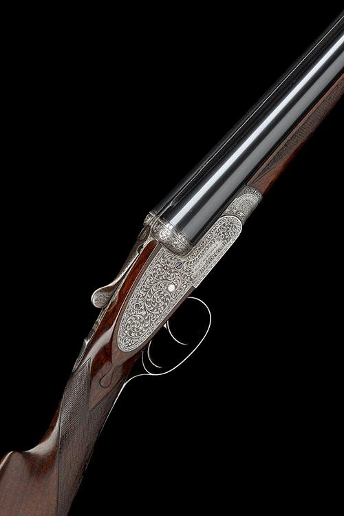 E.J. CHURCHILL A LIGHTWEIGHT 12-BORE ''IMPERIAL 1934 MODEL'' EASY-OPENING SIDELOCK EJECTOR, serial no. 4978,
