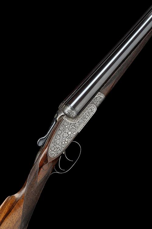 ARMSTRONG & CO. A 12-BORE SIDELOCK EJECTOR, serial no. 41315,
