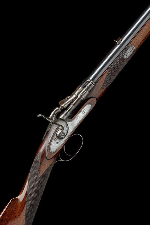 E. & F.G. DODSON, LOUTH A .360 No5 BREECH-LOADING ROOK-RIFLE, MODEL ''SNIDER''S PATENT'', serial no. 6784,