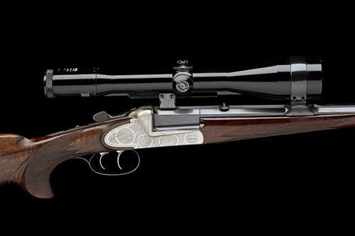 FRANZ SODIA A 7MM REM. MAG. SINGLE-BARRELLED SIDEPLATED BOXLOCK NON-EJECTOR SPORTING RIFLE, serial no. 23271,
