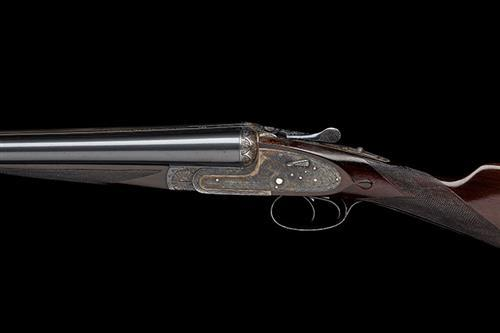 AYA A 12-BORE ''NO.2'' HAND-DETACHABLE SIDELOCK EJECTOR, serial no. 560107,