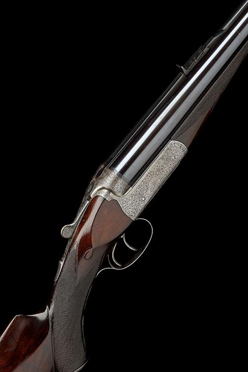 W. J. JEFFERY & CO. LTD. A .475 NO.2 JEFFERY NITRO EXPRESS BOXLOCK EJECTOR DOUBLE RIFLE, serial no. 28860,