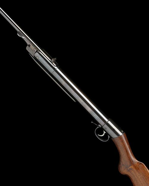 THE ONLY KNOWN EXAMPLE OF A .177 BAKER''S PATENT BREAK-BARREL AIR-RIFLE, no visible serial number