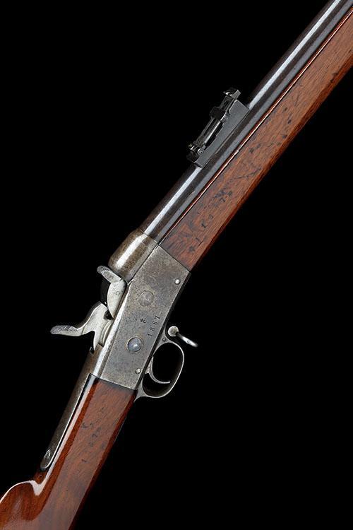 CARL GUSTAV, SWEDEN A 12.7 x 48R SINGLE-SHOT TROPHY RIFLE, MODEL M60/67 SWEDISH ROLLING-BLOCK'', serial no. 1161,