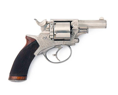 E.M. REILLY & CO., LONDON A .450 FIVE-SHOT DELUXE POCKET-REVOLVER, MODEL ''TRANTER''S PATENT'', serial no. 40765,