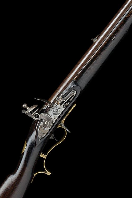 TOWER A SCARCE .625 FLINTLOCK RIFLE, MODEL ''1800 PATTERN BAKER'', no visible serial number,