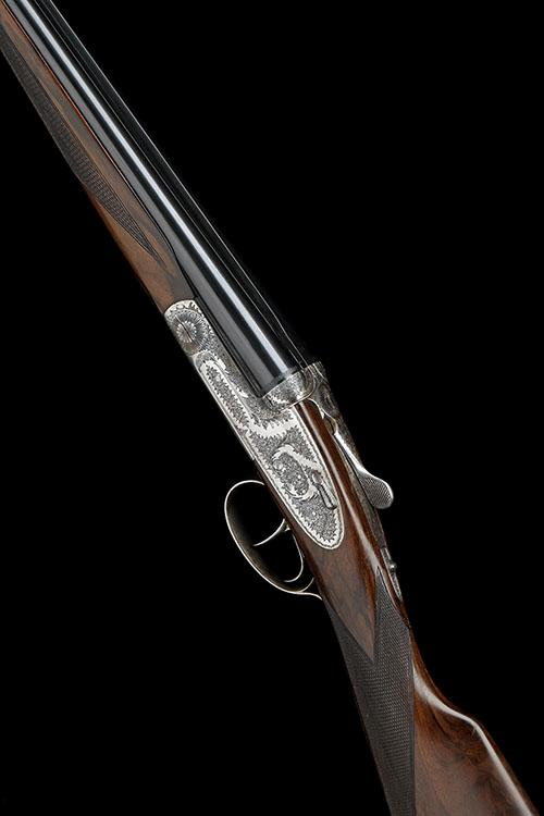ARRIETA A 28-BORE ''MOD NO.1'' ROUNDED-BAR HAND-DETACHABLE SIDELOCK EJECTOR, serial no. 65-00,