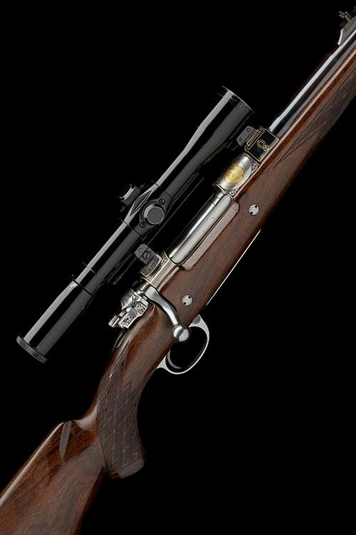 FN BROWNING A CAPECE-ENGRAVED .375 H&H MAG. ''LUX AFRICA'' BOLT-MAGAZINE SPORTING RIFLE, serial no. 330CS01036,