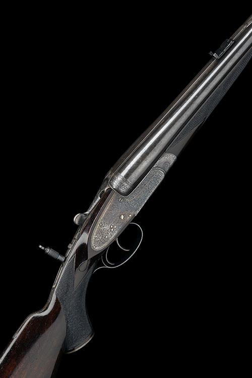 HOLLAND & HOLLAND A .303 CAL. NITRO EXPRESS ''ROYAL'' SIDELOCK NON-EJECTOR DOUBLE RIFLE, serial no. 17653,