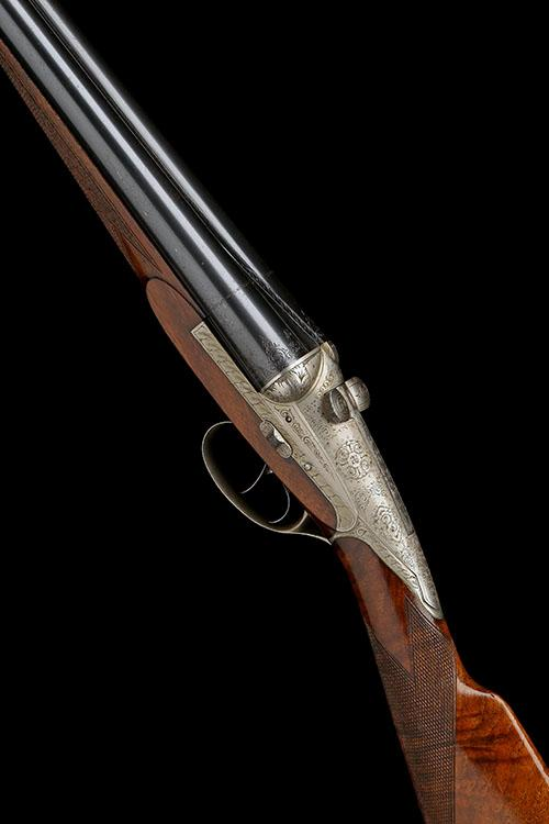 DARNE A LIGHTWEIGHT 12-BORE ''V19'' SPRING-LOADED SLIDING-BREECH EJECTOR, serial no. 8C212,