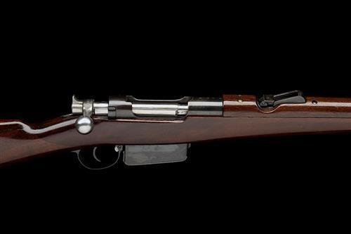 * WAFFENFABRIK BERN, SWITZERLAND A RARE 7.5x53 (SWISS) STRAIGHT-PULL CAVALRY CARBINE, MODEL ''SYSTEM MANNLICHER M94'', serial no. 3304,