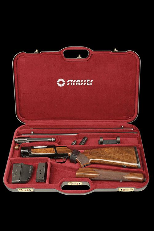 STRASSER A LEFT-HANDED 6.5X55SE ''MOD RS 05'' STRAIGHT-PULL TAKE-DOWN RIFLE, no. A4061, with extra 7mm Rem. Mag. barrel, no. A2255,
