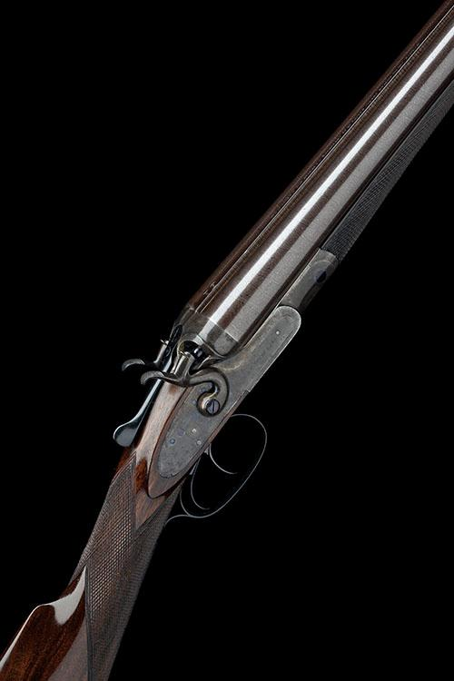W. & C. SCOTT & SON A 12-BORE 1865 PATENT TOPLEVER HAMMERGUN, serial no. 46459,