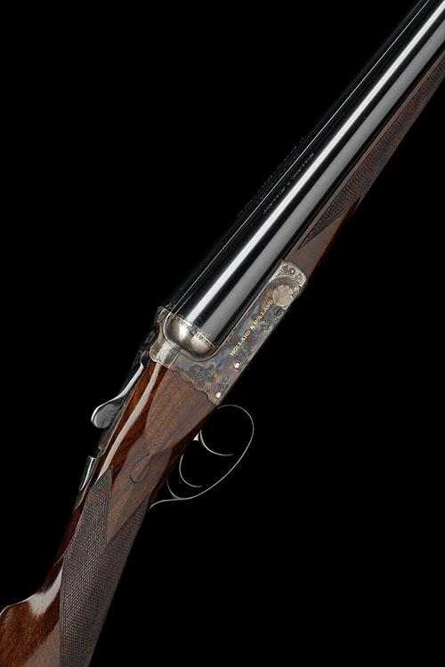 HOLLAND & HOLLAND A LITTLE USED 12-BORE ''THE CAVALIER'' BOXLOCK EJECTOR, serial no. 50044,