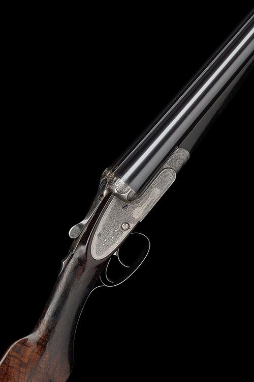 J. WOODWARD & SONS A 12-BORE SIDELOCK EJECTOR, serial no. 5521,