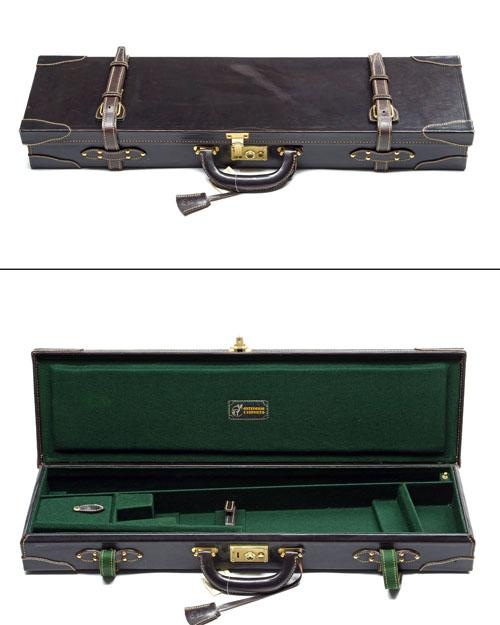 ARTESANIA F. EXPOSITO A UNUSED LEATHER SINGLE GUNCASE,