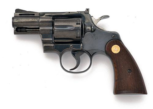 COLT, USA A .357 (MAG) SIX-SHOT DOUBLE-ACTION REVOLVER, MODEL ''PYTHON'', serial no. 35973,