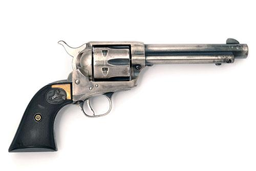 ** COLT, USA A .38 (SPECIAL) SINGLE-ACTION REVOLVER, MODEL ''SINGLE ACTION ARMY'', serial no. 29331SA,