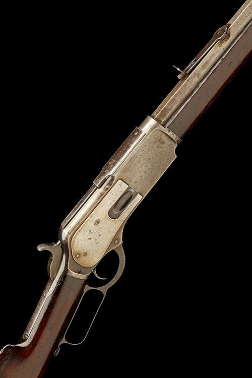 WINCHESTER REPEATING ARMS, USA A .45-60 (WIN) LEVER-ACTION REPEATING SPORTING-RIFLE, MODEL ''1876'', serial no. 46515,