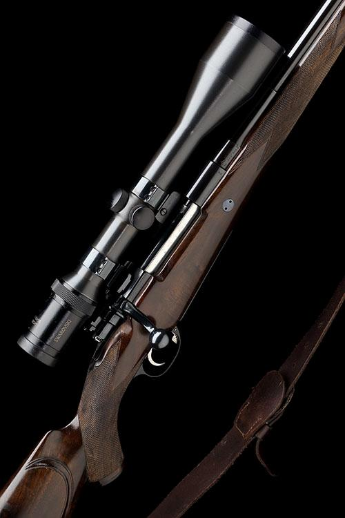 RON WHARTON (FROM RIGBY''S) A .300 H&H MAGNUM BOLT-MAGAZINE SPORTING RIFLE, serial no. 0238,