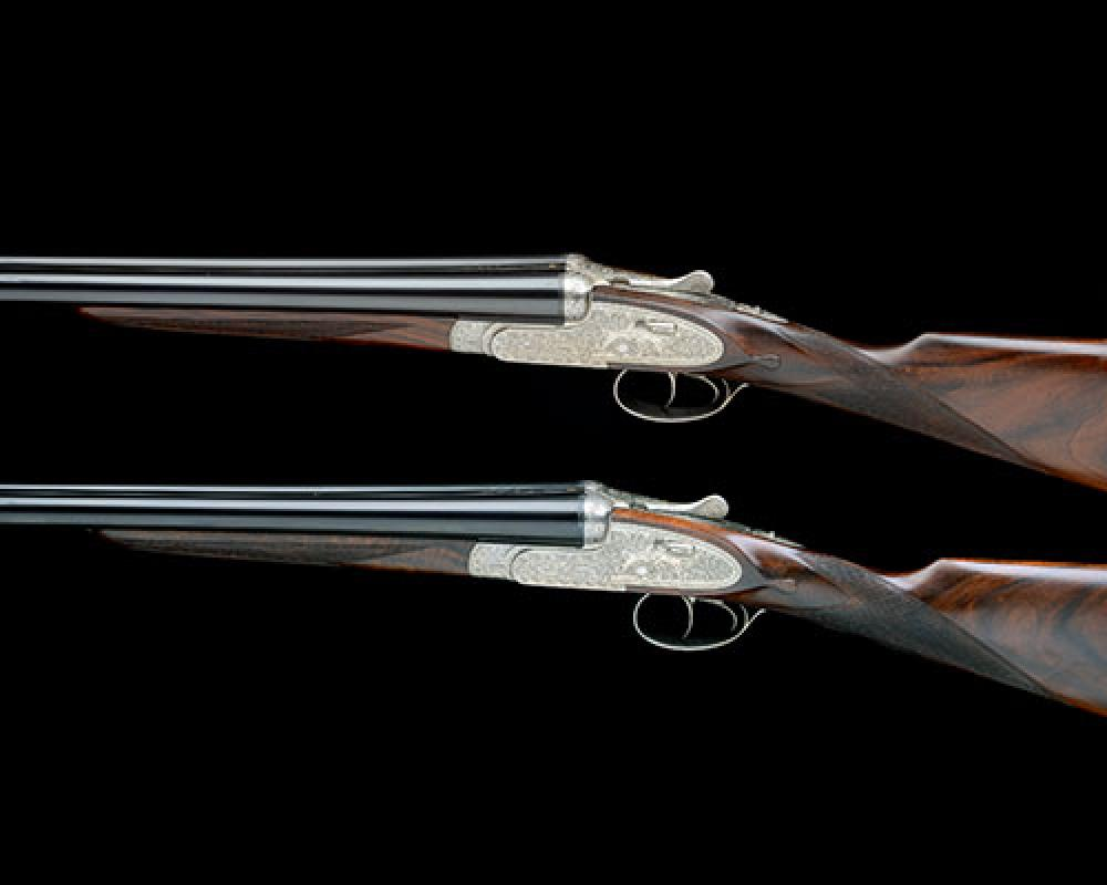 ARRIETA Y CIA. A PAIR OF 20-BORE SELF-OPENING HAND-DETACHABLE SIDELOCK EJECTORS, serial no. 36245 / 6,