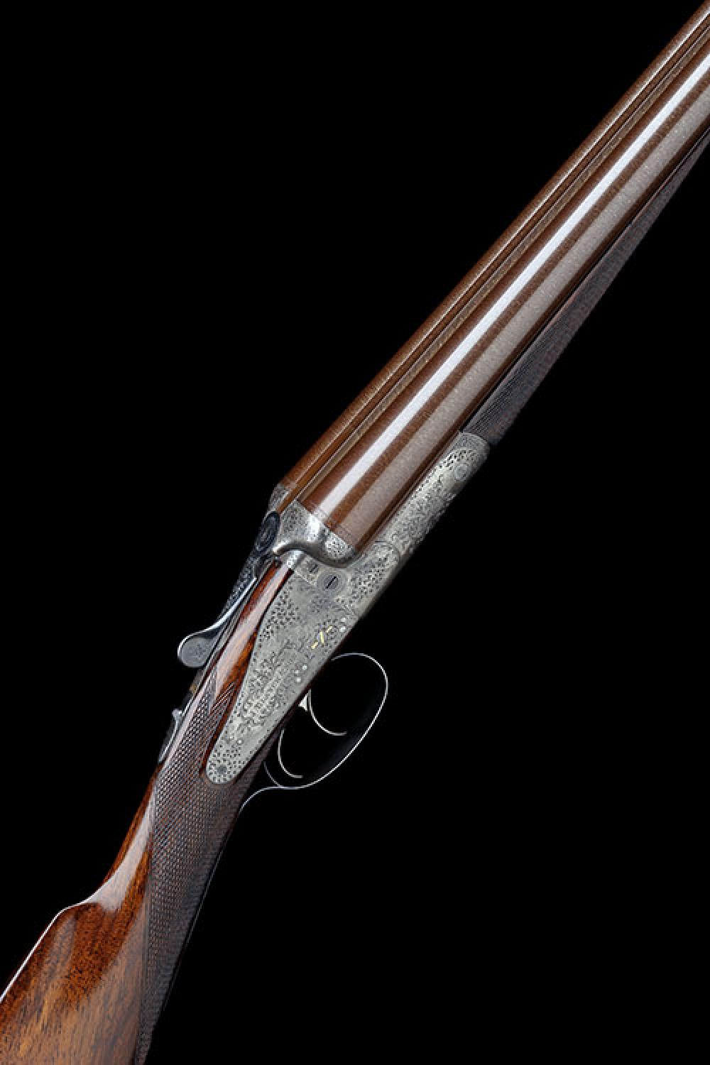 J. BLANCH & SON A LIGHTWEIGHT 12-BORE BACK-ACTION SIDELOCK EJECTOR, serial no. 5808,