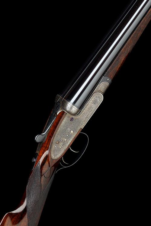 OGDEN SMITHS & HUSSEY LTD. A 20-BORE ''IMPERIAL EJECTOR'' SIDELOCK EJECTOR, serial no. 1066,