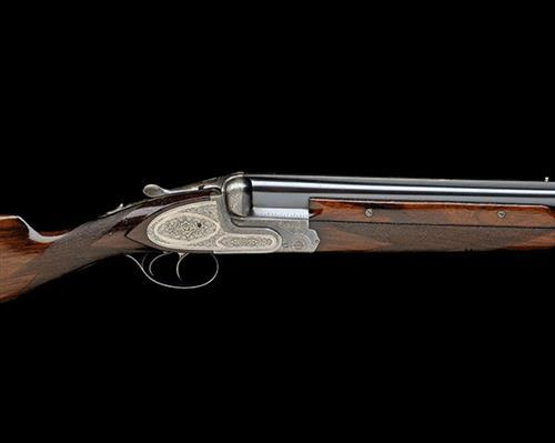 PIROTTE & FILS A 12-BORE DOUBLE-TRIGGER SIDEPLATED OVER AND UNDER EJECTOR, serial no. 1748,