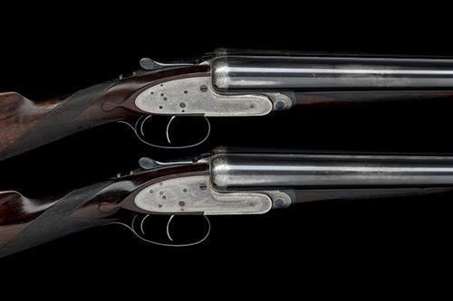 J. PURDEY & SONS A PAIR OF 12-BORE SELF-OPENING SIDELOCK EJECTORS, serial no. 19814 / 5,