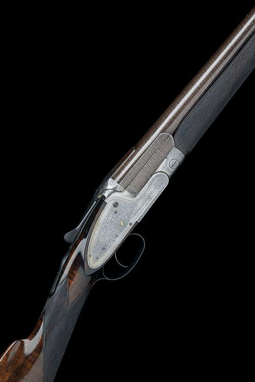 J. WOODWARD & SONS A RARE 16-BORE SINGLE-BARRELLED TOPLEVER SIDELOCK NON-EJECTOR, serial no. 4790,