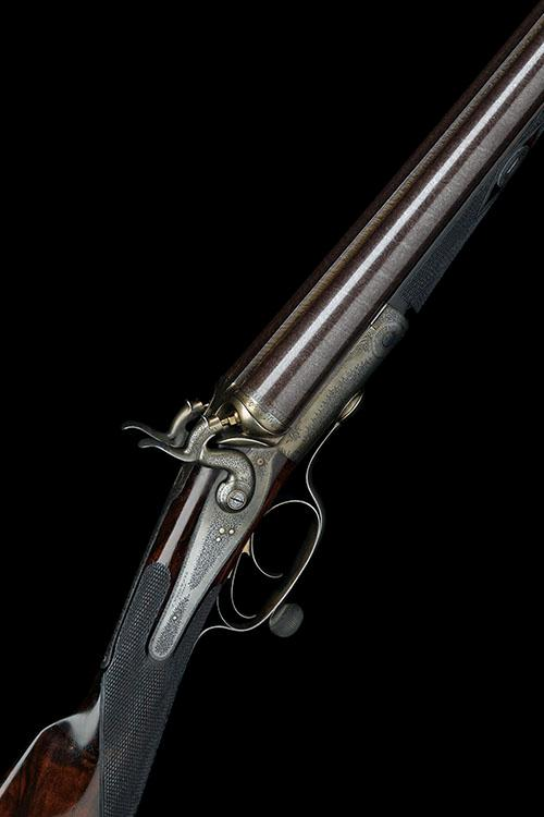 J. WOODWARD & SONS A 12-BORE ROTARY-UNDERLEVER HAMMERGUN, serial no. 3191,