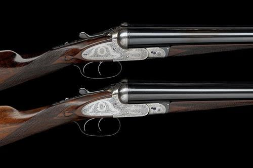 COGSWELL & HARRISON LTD. A COMPOSED PAIR OF 12-BORE SIDEPLATED ''THE AVANT TOUT'' BOXLOCK EJECTORS, serial no. 29309 / 29332,